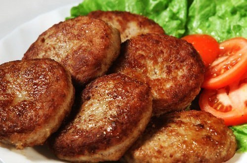 Сочные мясные котлеты без хлеба