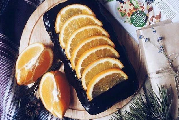 Лимонно-апельсиновый кекс
