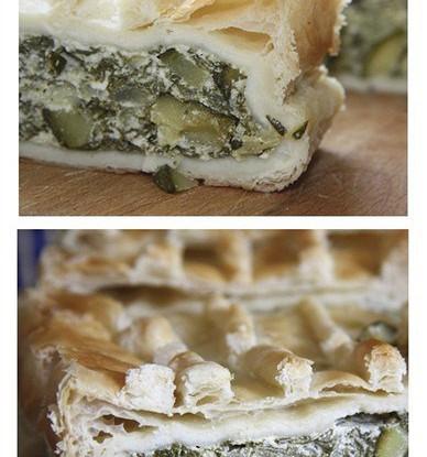 Пирог с мангольдом и рикоттой (Torta di Bietola)