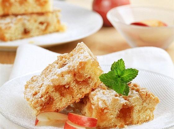 Яблочный пирог с амаретто
