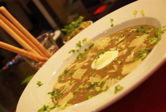Овощной крем-суп со сливками