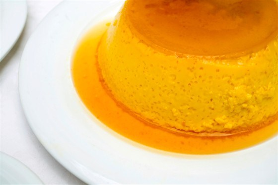 Десерт апельсиновый