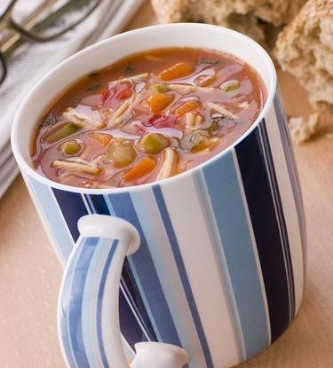 Суп из фасоли с лапшой