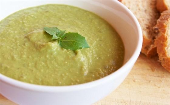Гороховый суп-пюре с молоком