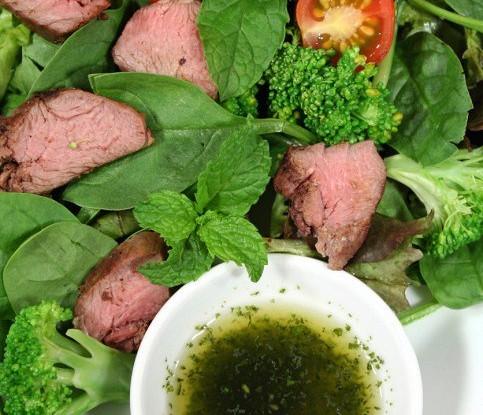 Кремовая заправка для салата с тмином