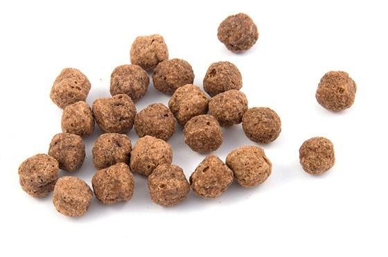 Шоколадно-мятные хрустящие шарики