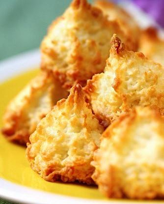 Французское кокосовое печенье