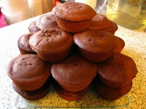 Мини-кексы с творогом