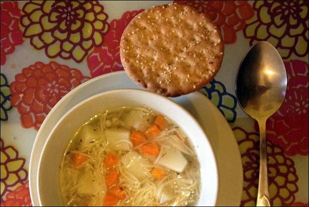 Куриный суп по-домашнему