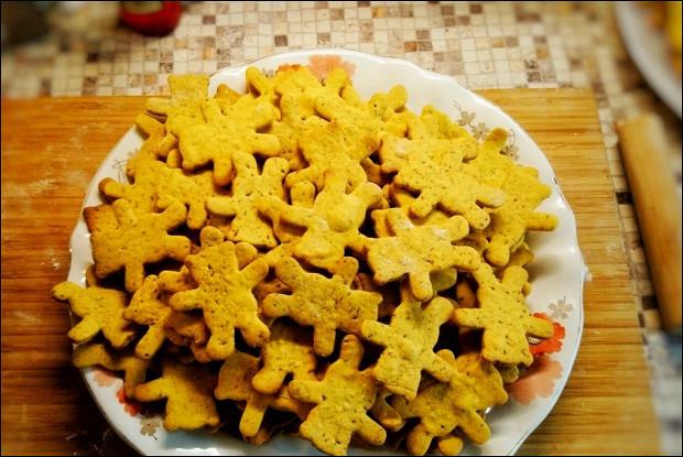 Печенье на рассоле от соленых огурцов