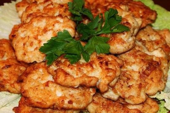котлеты из куриной грудки с плавленным сыром