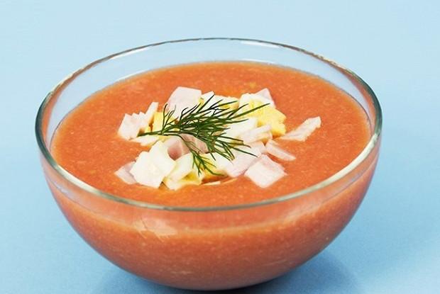 Холодный суп салморехо