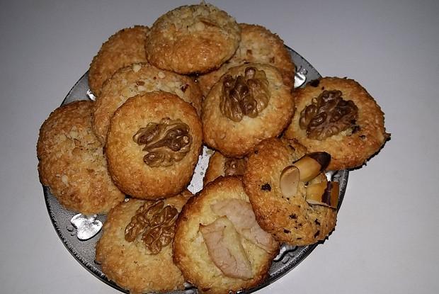 Быстрое кокосовое печенье