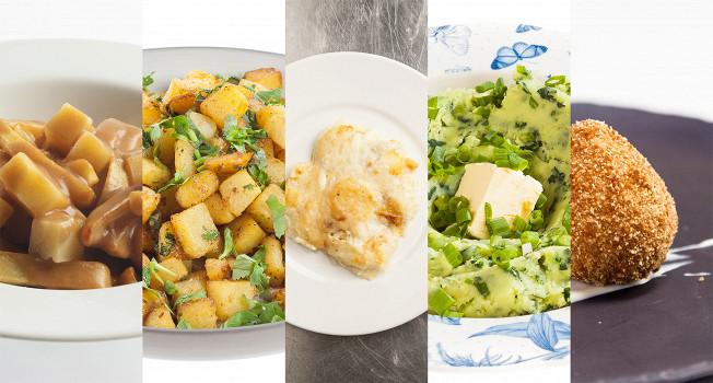 Лучшие блюда из картошки