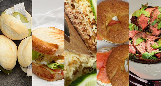 Десяток сэндвичей для школы