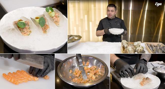 Как делать тартар из лосося