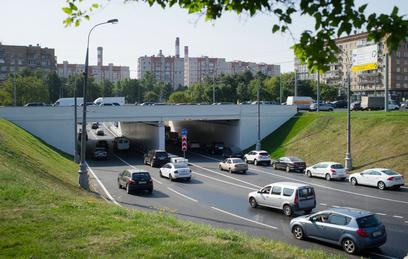 ВМоскве закончен капитальный ремонт Гагаринского тоннеля