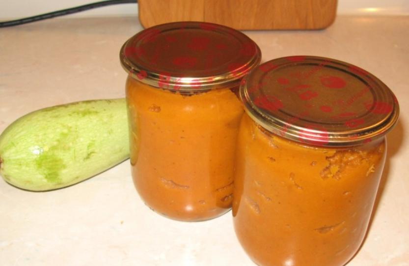Рецепт быстрой икры из кабачков на зиму