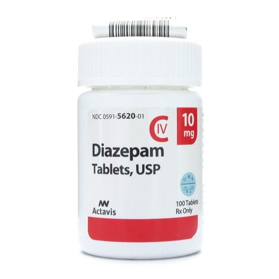 Compare diazepam and temazepam
