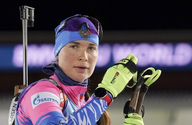 Воронина победила вспринте наэтапе Кубка России побиатлону