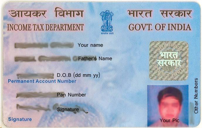 Pan Card Form Online - Download Free New UTI, NSDL Pan