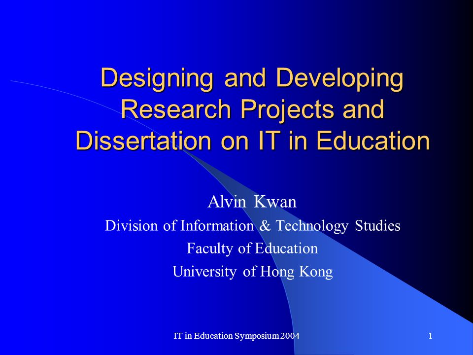 Dissertation Abstract - Custom Dissertation Writing
