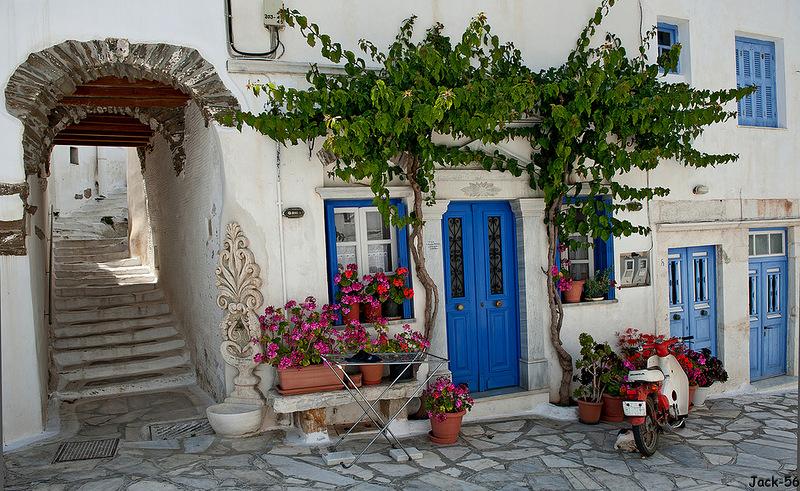 Дом в остров Тинос в деревне