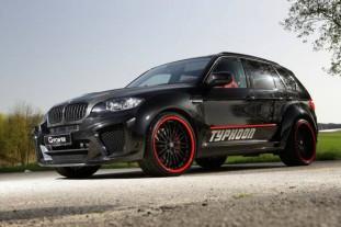 BMWX5MTyphoon после тюнинга получил подкапот 750«лошадей»