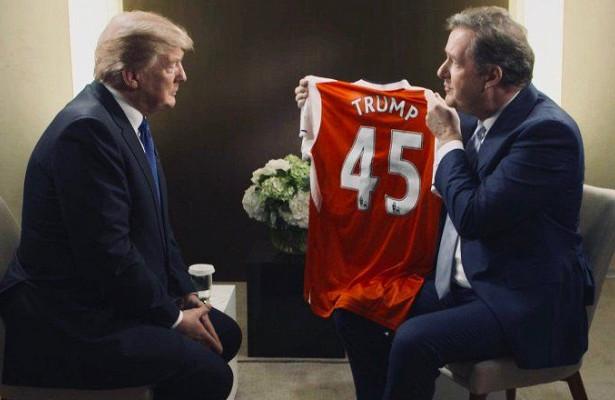 Трампу предложили потренировать «Арсенал»