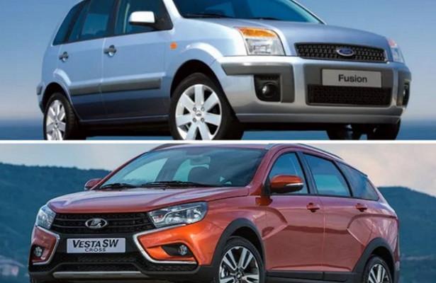 ВСети устаревший Ford Fusion признали более качественным, чемLADA Vesta SWCross