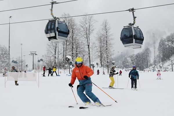 Россиянин рассказал онедостатках горнолыжного курорта вСочи
