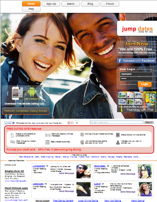 Top 5 free online dating sites