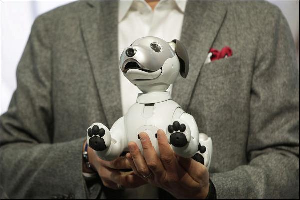 ВЯпонии презентовали робота-собаку нового поколения