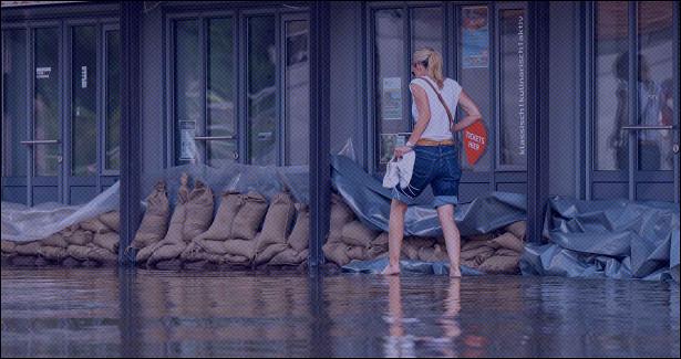 Пол-Европы ушло подводу из-запроливных дождей. Фото ивидео