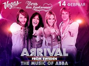 «Abba Show»: Arrival From Sweden