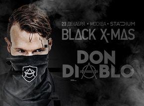 «Black X-mas»: DJs Don Diablo