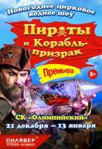 """Новогоднее цирковое водное шоу """"Пираты и корабль-призрак"""" (талон на подарок)"""